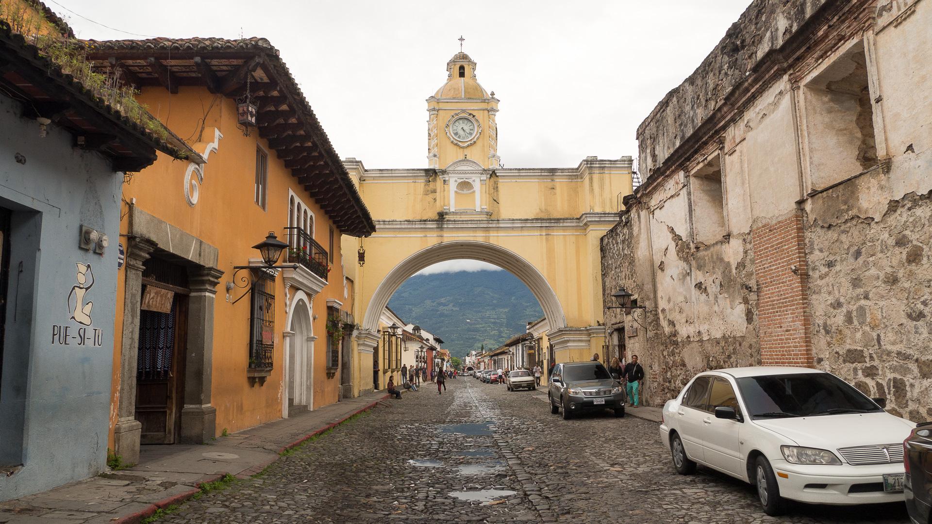 Antigua - krásné a bezpečné koloniální městečko