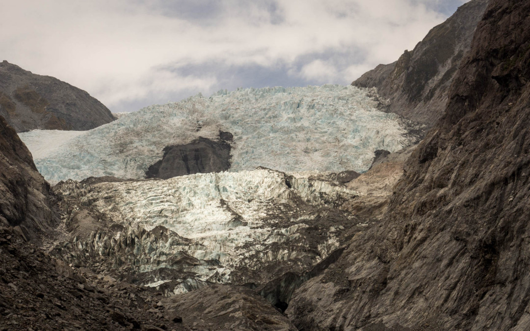 Franc Josef a Fox Glacier