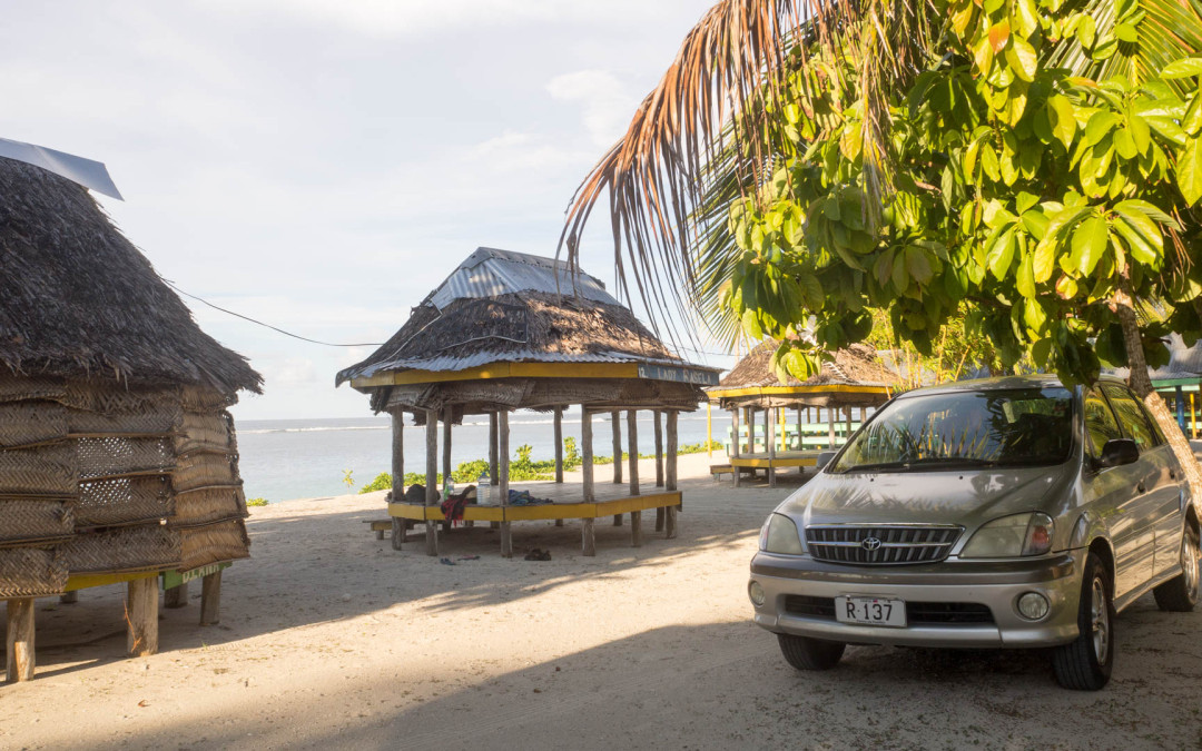 Samoa – Savai, Relax v Tanu Beach Falas