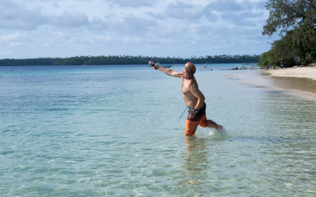 Vava'u – ostrov Ofu, rybaření, kayaking