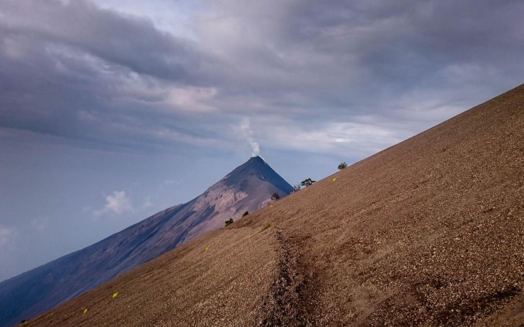 Vulcán Accatenango 3976 m n.m.
